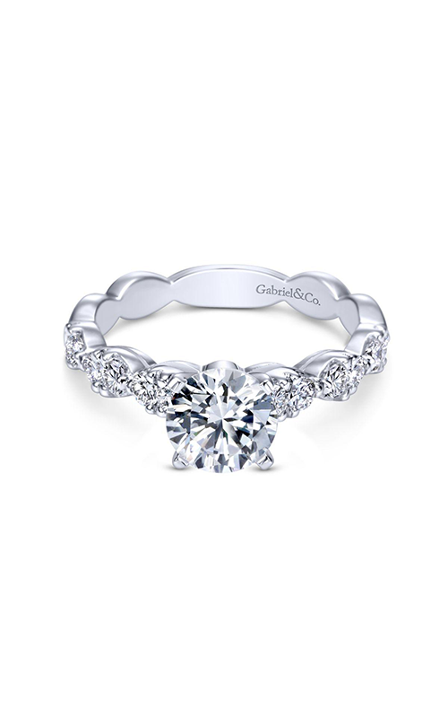 Gabriel & Co. Contemporary Engagement Ring ER3990W84JJ product image