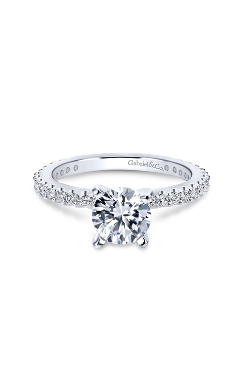 Gabriel & Co. Contemporary Engagement Ring ER4124W84JJ product image