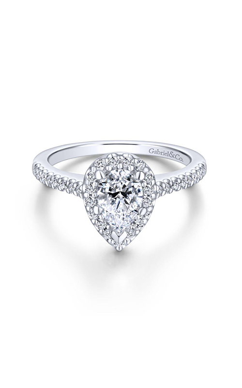 Gabriel & Co. Contemporary Engagement Ring ER5828PT4JJ product image