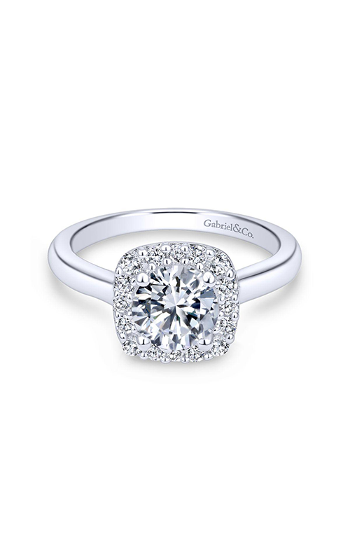 Gabriel & Co. Contemporary Engagement Ring ER6873PT4JJ product image
