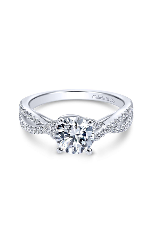 Gabriel & Co. Contemporary Engagement ring ER7546W84JJ product image