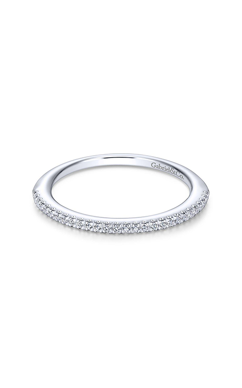 Gabriel & Co Contemporary Wedding Band WB13859R4W44JJ product image