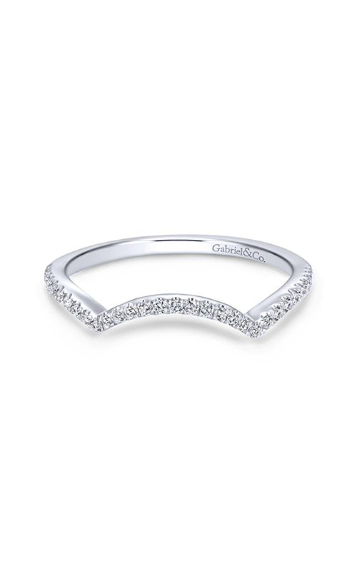Gabriel & Co Contemporary Wedding Band WB7804PT4JJ product image