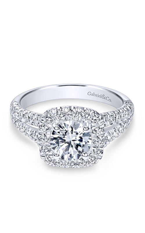 Gabriel & Co. Contemporary Engagement Ring ER10252W84JJ product image