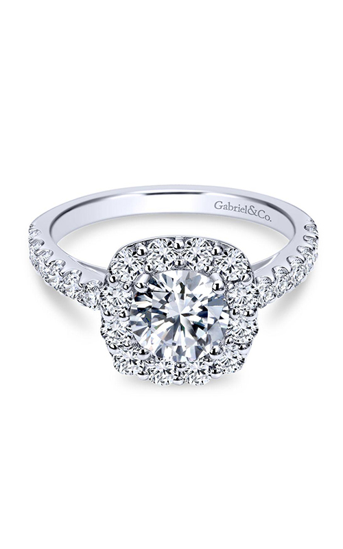 Gabriel & Co. Contemporary Engagement ring ER7480PT4JJ product image