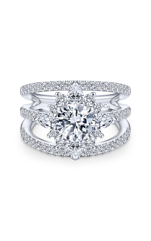 Gabriel & Co Starlight Engagement Ring ER14414R4W44JJ.CSCZ product image