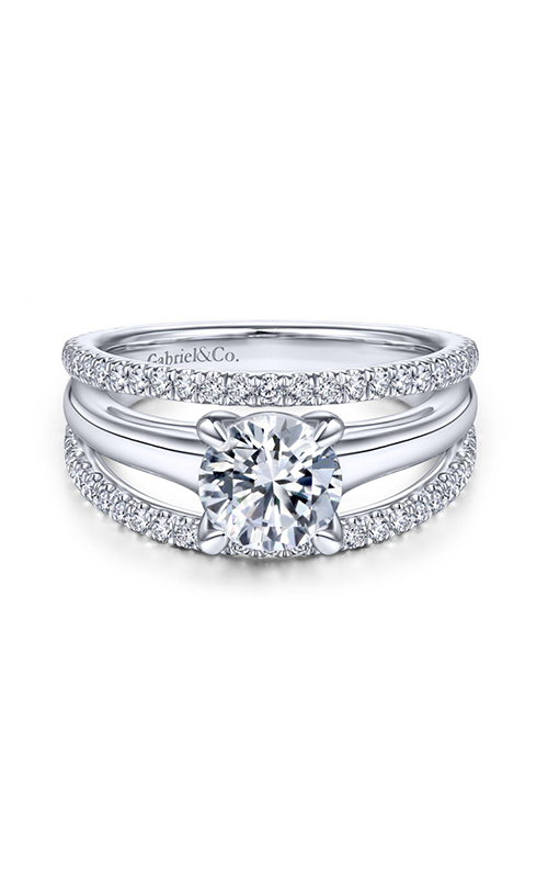 Gabriel & Co. Nova Engagement Ring ER14714R4W44JJ product image
