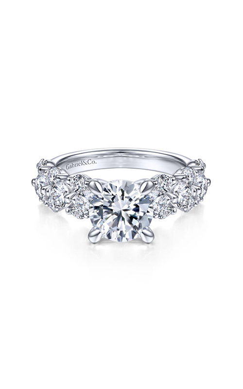 Gabriel & Co. Contemporary Engagement Ring ER14732R6W44JJ product image
