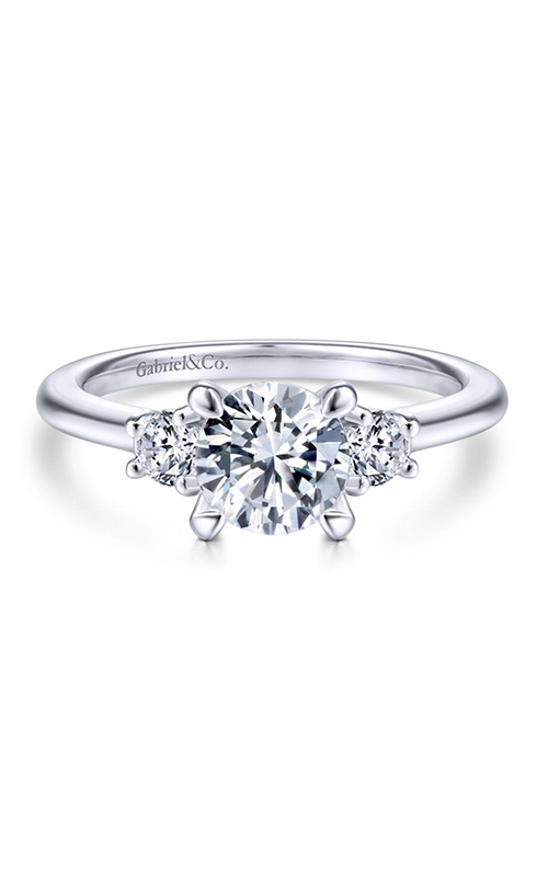 Gabriel & Co Classic Engagement Ring ER14745R4W44JJ product image