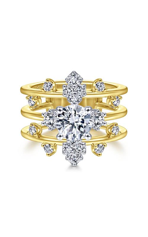 Gabriel & Co Starlight Engagement Ring ER14775R4M44JJ.0001 product image