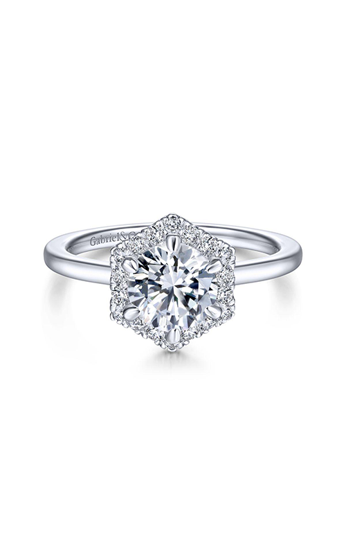 Gabriel & Co. Contemporary Engagement Ring ER14788R4W44JJ product image