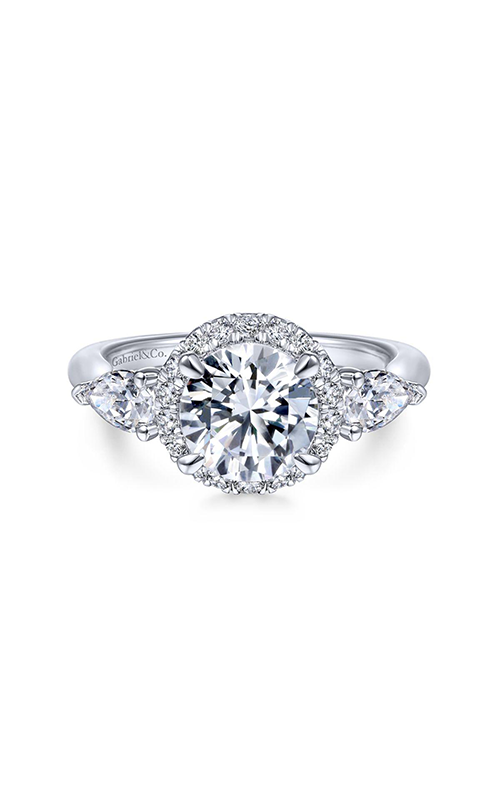 Gabriel & Co. Contemporary Engagement Ring ER14789R6W44JJ product image