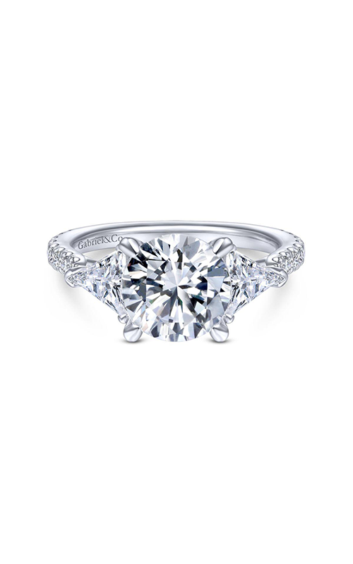 Gabriel & Co Classic Engagement Ring ER14791R8W44JJ product image