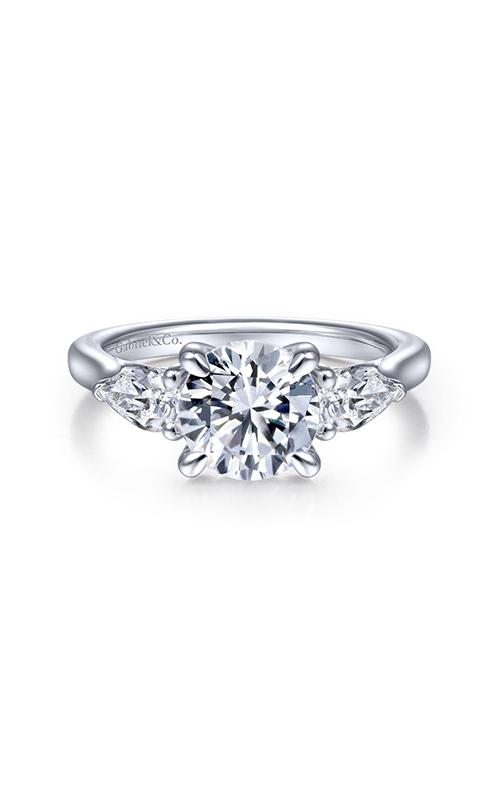 Gabriel & Co Classic Engagement Ring ER14794R6W44JJ product image