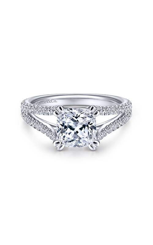 Gabriel & Co. Contemporary Engagement Ring ER14804C8W44JJ product image