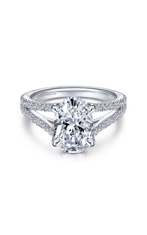 Gabriel & Co. Contemporary Engagement Ring ER14804O8W44JJ product image