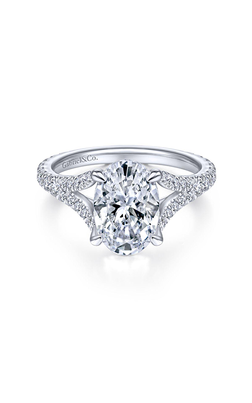 Gabriel & Co. Contemporary Engagement Ring ER14805O8W44JJ product image