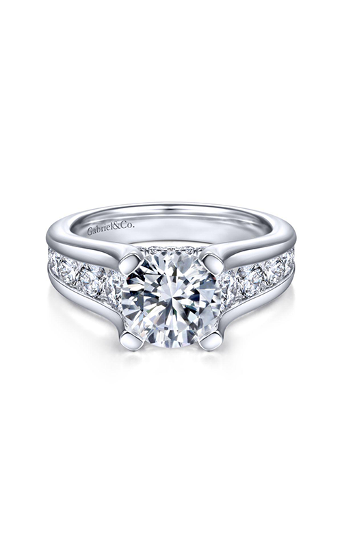 Gabriel & Co. Contemporary Engagement Ring ER14889R8W44JJ product image