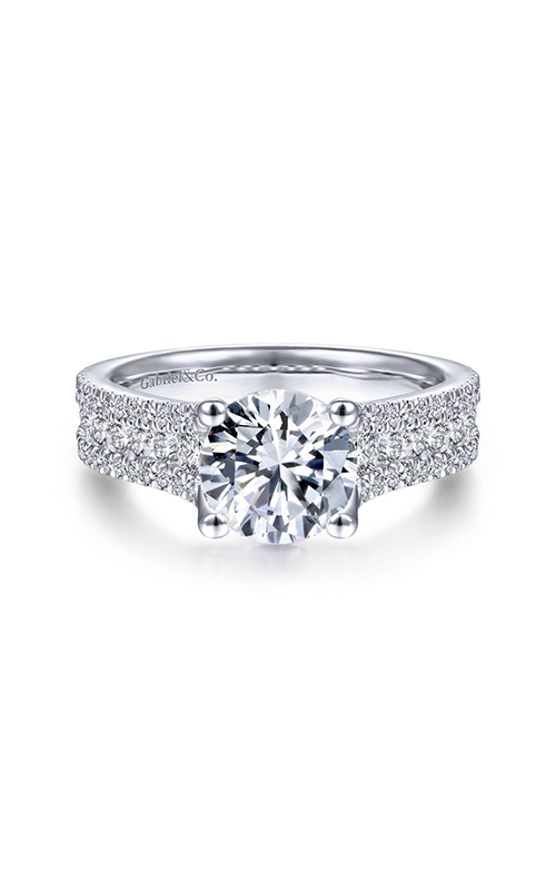 Gabriel & Co. Contemporary Engagement Ring ER14890R6W44JJ product image