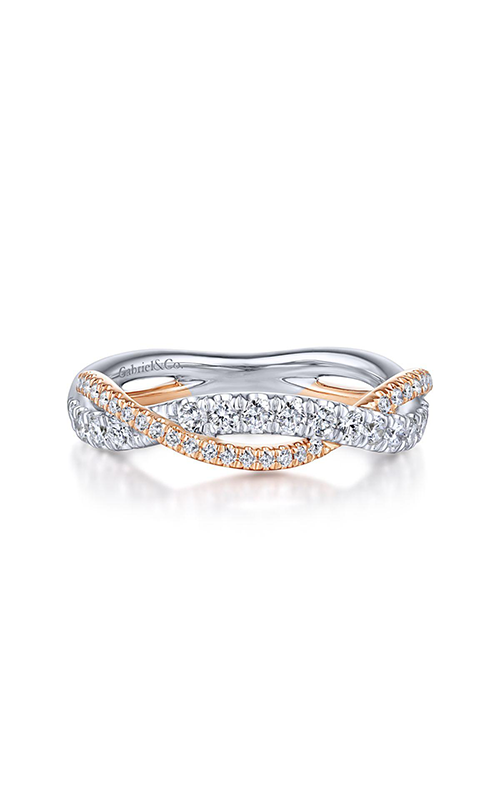 Gabriel & Co Contemporary Wedding Band WB14460R4T44JJ.0002 product image