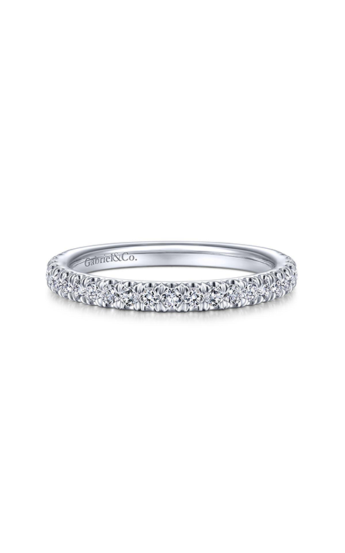 Gabriel & Co Contemporary Wedding Band WB14795S8W44JJ product image