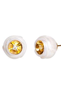 Galatea Heart Of Gold Earrings DIP-101E product image