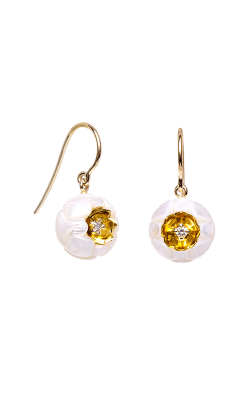 Galatea Heart Of Gold Earrings DIP-102ED product image