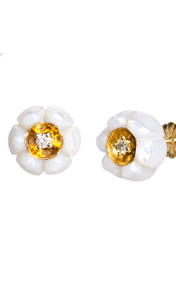 Galatea Heart Of Gold Earrings DIP-105E product image