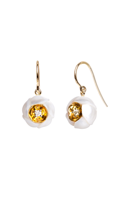 Galatea Heart Of Gold Earrings DIP-106ED product image