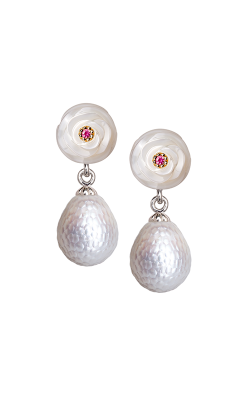 Galatea Momento Pearl Earrings MO-23E product image