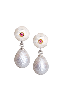 Galatea Momento Pearl Earrings MO-24E product image