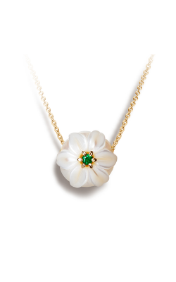 Galatea Pearl Flower Necklace PB5 product image