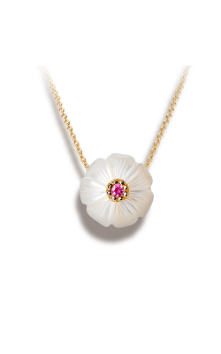 Galatea Pearl Flower Necklace PB10 product image
