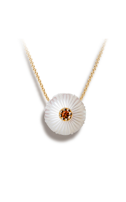 Galatea Pearl Flower Necklace PB11 product image