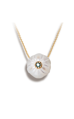 Galatea Pearl Flower Necklace PB12 product image