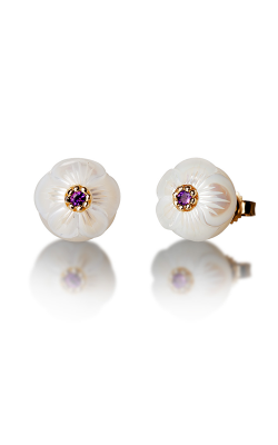 Galatea Pearl Flower Earrings PB2E product image