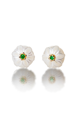 Galatea Pearl Flower Earrings PB5E product image