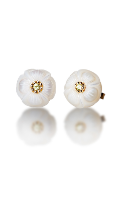 Galatea Pearl Flower Earrings PB8E product image