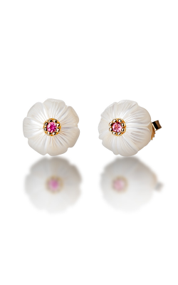 Galatea Pearl Flower Earrings PB10E product image