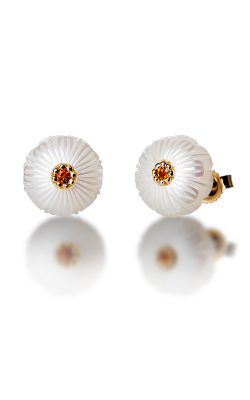 Galatea Pearl Flower Earrings PB11E product image