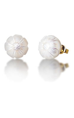 Galatea Pearl Flower Earrings PF10E product image