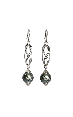 Galatea Queen Bead Convertibles Earrings CJ-118E product image