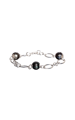 Galatea Carved Pearl & Sterling Bracelet 8012BT product image