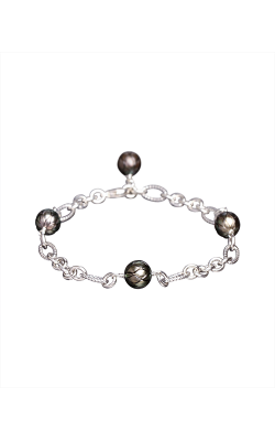 Galatea Carved Pearl & Sterling Bracelet 8013BT product image