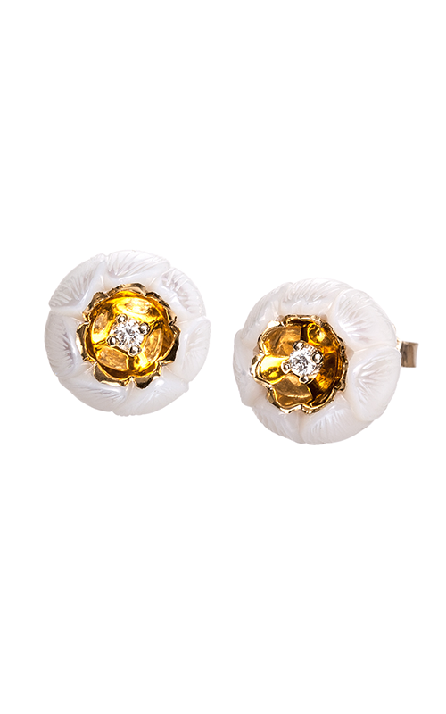 Galatea Heart of Gold Earrings DIP-103E product image
