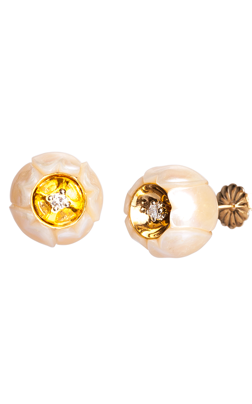 Galatea Heart of Gold Earrings DIP-104E product image