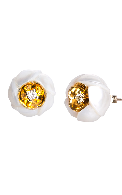 Galatea Heart of Gold Earrings  DIP-106E product image