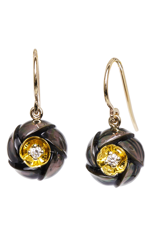 Galatea Heart of Gold Earrings DIP-106ETD product image