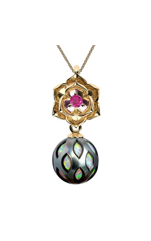 Galatea Momento Pearl Necklace MO-12 product image