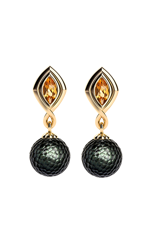 Galatea Momento Pearl Earrings MO-8E product image